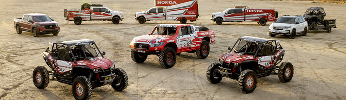 HONDA OFF-ROAD FACTORY RACING TRUSTS STEEL-IT® TO PROTECT AND KEEP FACTORY IMAGE