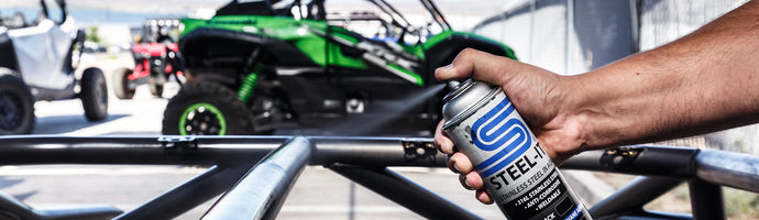 UTV SPORTS STEALING THE SHOW WITH STEEL-IT AEROSOLS