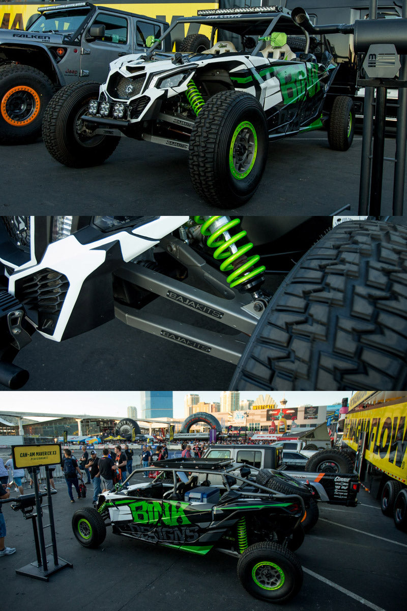 STEEL-IT, Bink Designs Canam X3, BinkX3MAX, Coatings, SEMA Show, Magnaflow