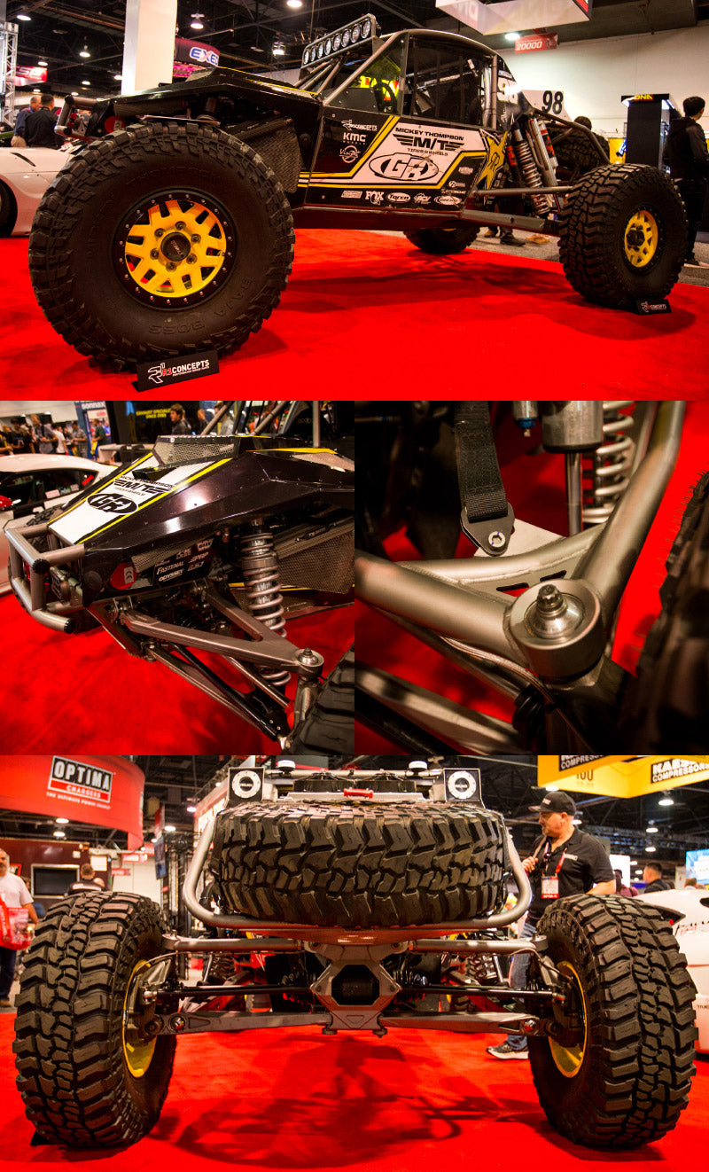 STEEL-IT, Jordan Pellegrino, GenRight, Ultra4, Rock Crawler, Off Road, Coatings, SEMA Show, Bink Designs