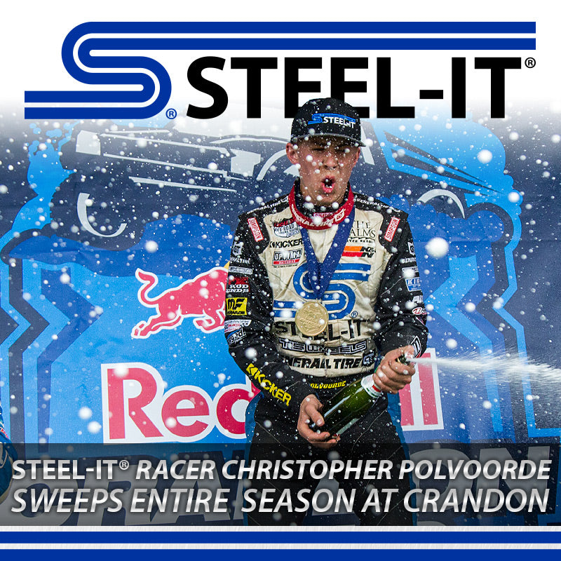 Christoper Polvoorde, STEEL-IT Coatings, Motorsports, Short Course Racing