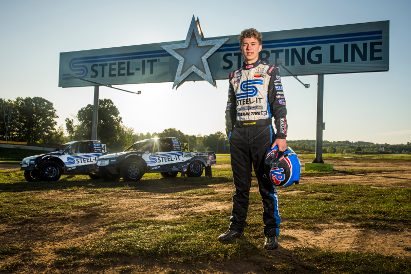 STEEL-IT Coatings, Christopher Polvoorde, Crandon, Starting Line, Bink Designs, Stainless Steel, Off Road Racing