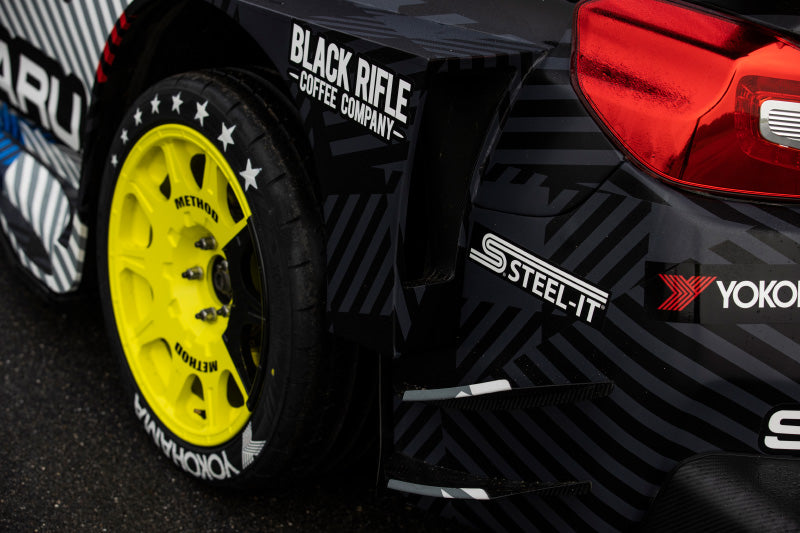 STEEL-IT Coatings, STEELIT, Travis Pastrana, Gymkhana 2020, Hoonigan, Automotive Paint, Car Paint, Subaru, Yokohama Tire, Rally Car, Bink Designs