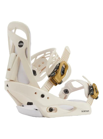 Burton Woman's Scribe Re:Flex Snowboard Binding 2021 - Cream