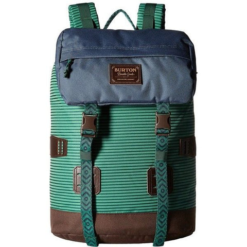 Burton Tinder 25L Backpack Green Stripe