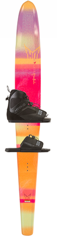 HO Freeride Womens Waterski with Freemax Binding 2017