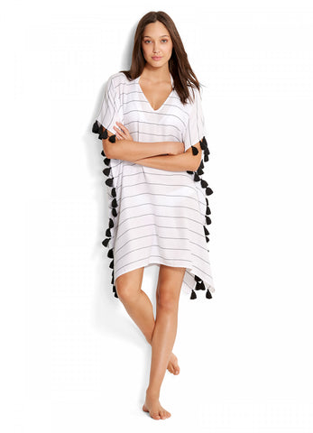 Seafolly Multi Stripe Kaftan