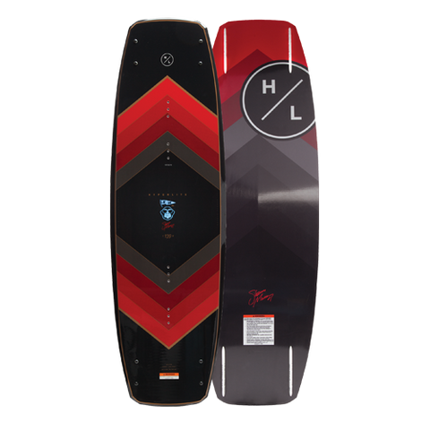 2019 Hyperlite Murray Wakeboard 139cm with Black Remix Boots