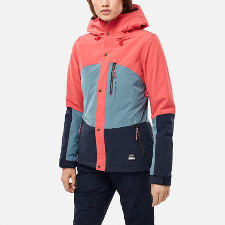 Jacket Red O'neill Women's Hibiscus Coral EZwZaqI7px