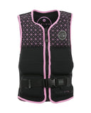 "Jetpilot Seg Youth Neo Vest ""Black/Pink"""