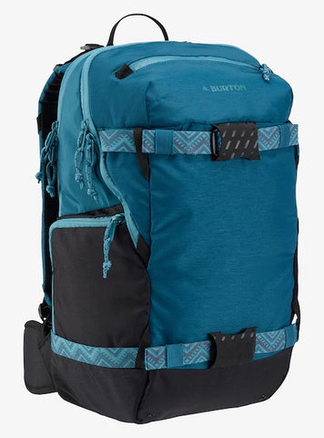 Burton Women's Rider's 23L Backpack Jaded Heathered Cordura