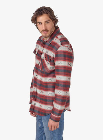 Burton Men's Brighton Sherpa Flannel