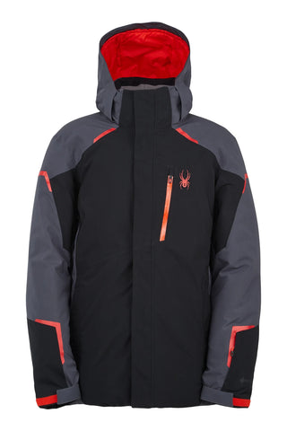 Spyder Copper GTX Mens Jacket - Black Ebony