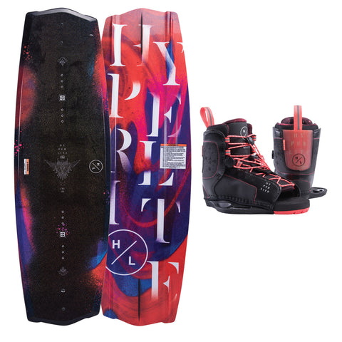 2019 Hyperlite Wakeboard Women's Eden 130cm with Jinx Boots