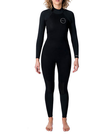 Peak Womens Energy 3/2mm GB Back Zip Wetsuit Steamer