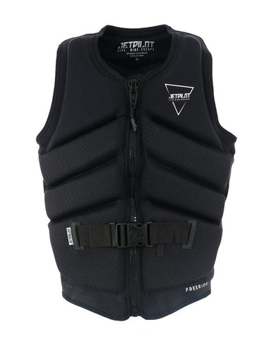 Jetpilot Freeride Mens Neo Vest - Black 20