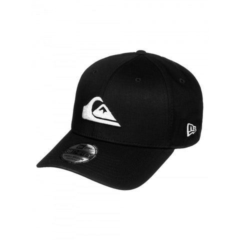 QUIKSILVER MENS MOUNTAIN AND WAVE NEW ERA STRETCH FIT CAP