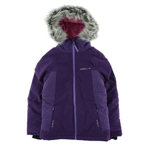 6eb8935e74db O Neill Girl s Felice Jacket Parachute Pur – Snow and Surf