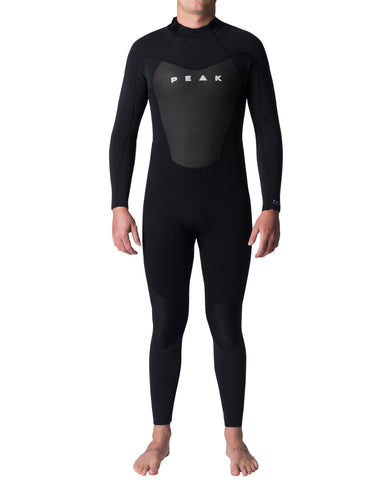 Peak Men's Energy 3/2mm Flatlock Back Zip Wetsuit