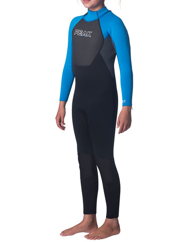 Peak Junior Energy 3/2mm Flatlock Back Zip Wetsuit