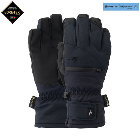 POW Cascadia Short Glove - Black