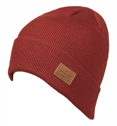 Quiksilver Men's Brigade Beanie - Ketchup Red