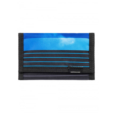"Quiksilver MENS THE EVERYDAILY TRI FOLD WALLET ""Moonlit Ocean"""