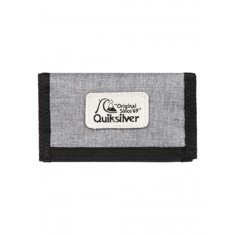 "QUIKSILVER™ Mens The Everydaily Tri Fold Wallet ""Black"""