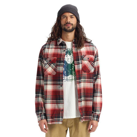 "Burton Brighton Flannel ""True Black Stump"""