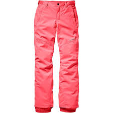 O'Neill Girl's Charm Pants Tangerine Pink