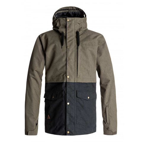 Quiksilver Men's Horizon Jacket - Grape Leaf