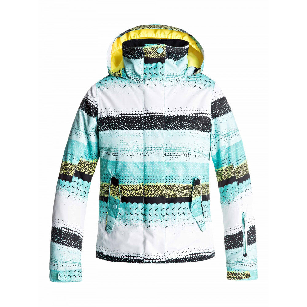 68ae74d24a Roxy Youth Jetty Girl Jacket - Aruba Blue – Snow and Surf
