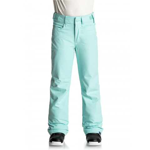 Roxy Girl's Backyard Snow Pant - Aruba Blue
