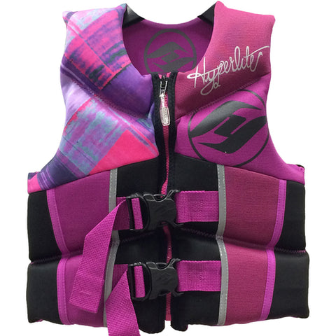 Hyperlite Youth Vest Pink/Purple (23-41kg)