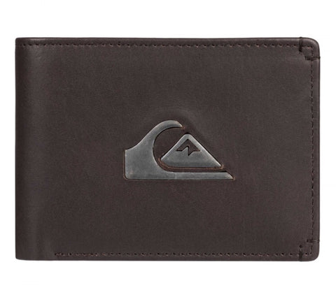 "Quiksilver New Miss Dollar Men's Wallet ""Chocolate Brown"""