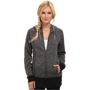 Roxy Women's Hideaway Fleece Zip Hoodie