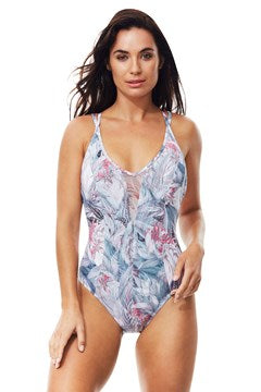 Moontide Paradise Mesh Twins Straps One Piece