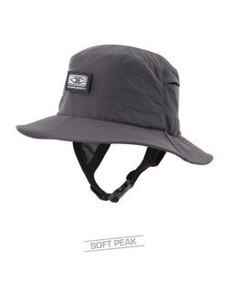 Ocean & Earth Bingin Soft Peak Surf Cap - Black