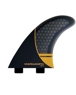 Ocean and Earth OE1 Whip Thruster Fins Dual Tab - Large/Orange