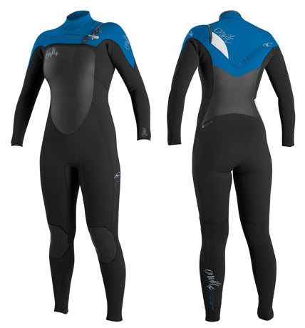 O'Neill Women's Superfreak 4/3 GBS Chest Zip Wetsuit