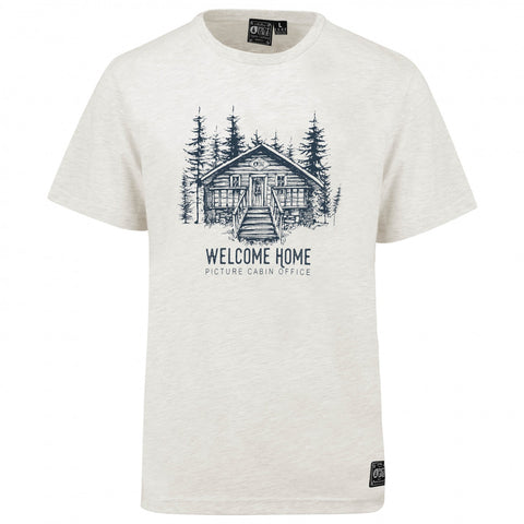 Picture Wood Cabin Tee