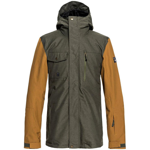 Quiksilver Mission 3n1 Jacket - Grape Leaf