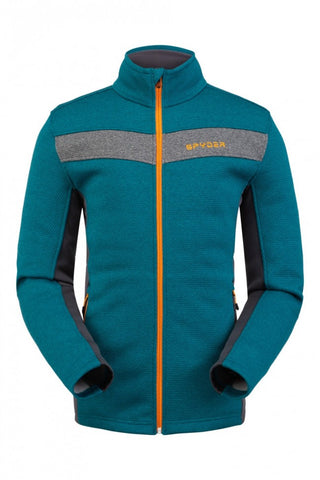 Spyder Encore Full Zip Mens Fleece Jacket - Swell