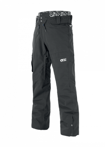 "Picture Under Men's Snow Pant ""Black"""