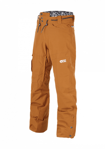 "Picture Under Men's Snow Pant ""Camel"""