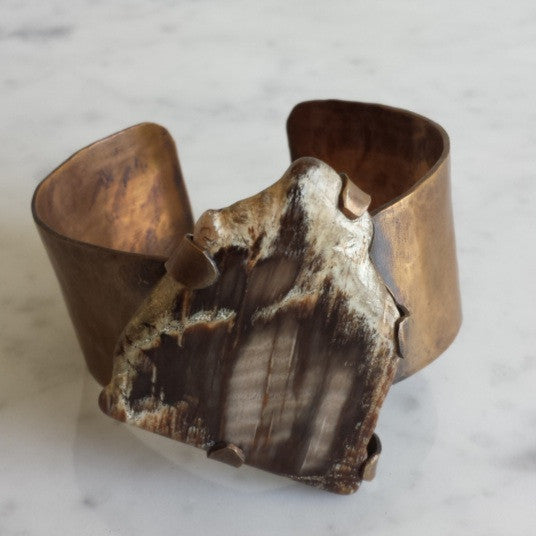 Petrified Sequoia Cuff