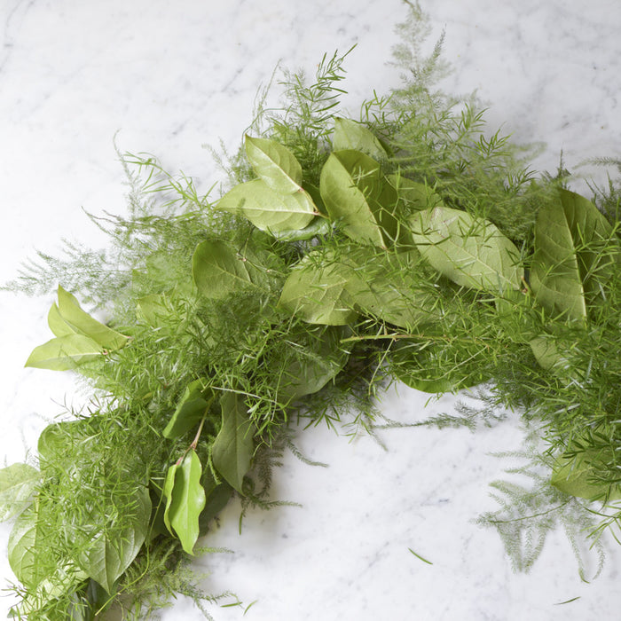 Sperengi Fern + Salal Leaf Garland