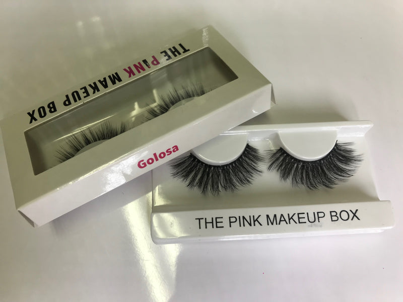 """Golosa"" Premium Silk Lashes - The Pink Makeup Box"