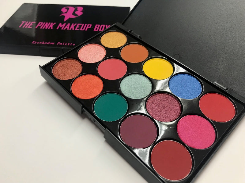 15B Yessenia MUA Eyeshadow Palette - The Pink Makeup Box