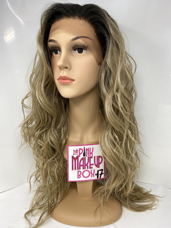 17 - Free Part, 360 Lace Front Wig - The Pink Makeup Box
